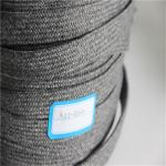 40 Mm GRS Braided Webbing , Recycled Olifen PP Webbing For Indoor Furniture