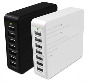 China Multiple USB charger 7 port USB charger 9A intelligent IC identifying the output 45W on sale