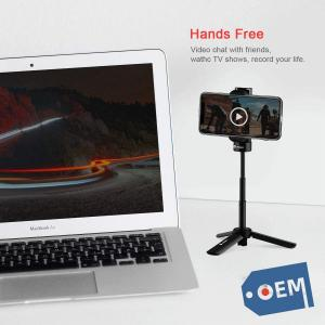 China Mini Tripod Tabletop Phone Tripod Desktop with 360 Rotation, Mount Portable Camera Stand Holder for iPhone 11/11 Pro iPh on sale