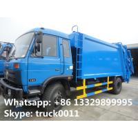 le meilleur camion de compacteur de déchets du dongfeng 12cbm des prix 2017s à vendre, camion à ordures chaud d