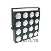 White 4 x 4 Dance hall / stage blinder lights 30 watt , 1 / 3 / 5 / 25 / 51ch