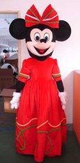 Quality adult mickey minnie cartoon costume  for sale