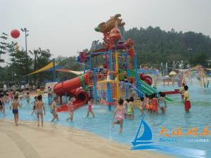 China Customize Water Play Features Kids Outdoor Water Toys, Water Playground Equipment on sale