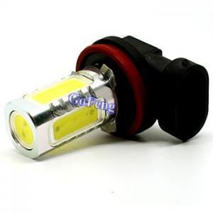 Quality H10 7.5W / 5W 12V / 24V High Intensity Amber LED Fog Light Bulbs ...