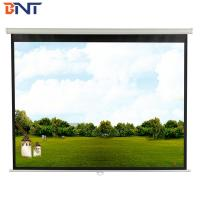 China Electric Projector Screen 100 Inch With Ultra Narrow Edge on sale