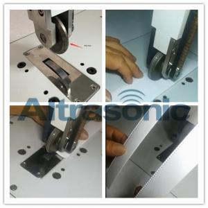 China Rotatory Ultrasonic Welder For Sealing / Cutting Nylon Laminated Fabric Filtering Paper on sale