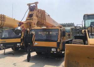 China XCMG QY50K Second Hand Crane , Yellow Lift Up 50 Ton Mobile Crane Used on sale