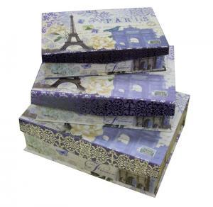 China Art Paper Keepsake Gift Boxes Flap Magnet in Set 1200gsm matt lamination offset Printing on sale
