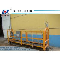 ZLP800 Hot Galvanized and Aluminum Working Platforms Used for High Windows Cleaners