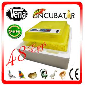 China 2014 CE approved full automatic small plastic incubator egg tray VA-48(12V) on sale