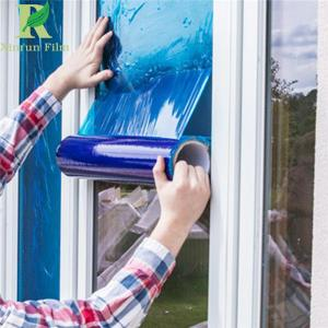 China 0.025-0.2mm Blue Guard Against Damages Self Adhesive Window Film for Protection on sale