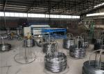 PLC Automatic Wire Mesh Welding Machine , Galvanized Wire Machine 1 Year Warranty