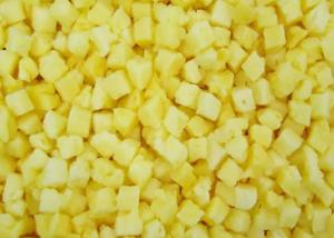 China HACCP 10kg Organic 10mm IQF Frozen Pineapple Slices on sale