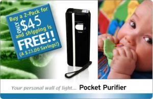 China Handheld UV Purifier, Germ Killer on sale