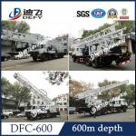 China DFC-600 Truck mounted hydraulic drilling rig for irrigation/water well wholesale