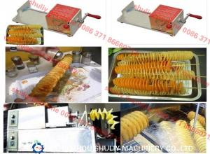 China Sprial Potato Cutter 0086-15238616350 on sale