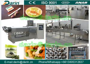 China Strip , stick , bone Shape Dog Food Extruder processing equipment / dog food machinery on sale