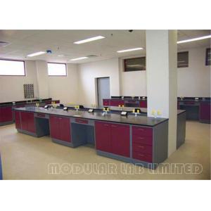 China C , H Type Frame Modular Laboratory Furniture , Science Lab Workstations on sale
