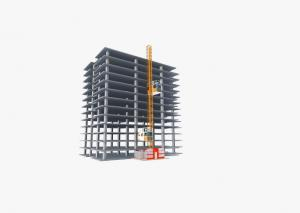 China High Safety Construction Hoist Elevator Robust Structure Large Carry Capacity on sale