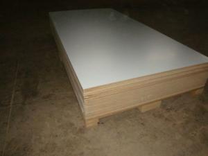 China 12mm Good Quality Melamine Laminated Plywood from China on sale