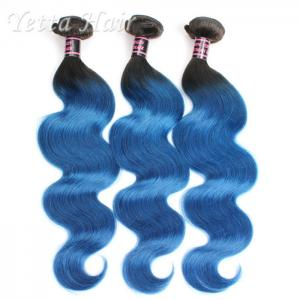 China 8A Colored Ombre Human Hair Extensions Full Cuticle Virgin Hair on sale