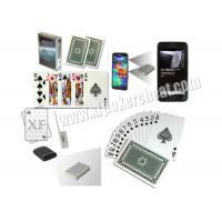 Invisible Barcodes Marked Poker Cards For Poker Scanner Magic Playing Cards