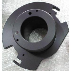 China Custom Aluminum 6061-T6 machinery part with matt oxide color, 120# sand blast supplier