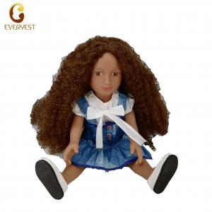 China wholesale high quality toy christmas fashion african doll on sale