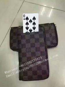 China Poker exchange bag for poker cheating device/exchange cards/cheat in casino/poker analyzer/omaha texas poker scanner on sale