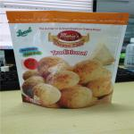 Food Granola Custom Logo Plastic Pouches Packaging Brazilian Cheese Puff Cookies Cheese Chips