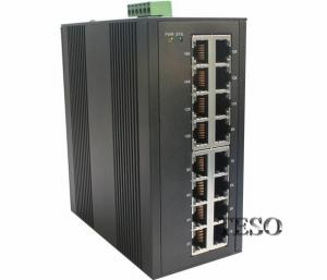 China 24 VDC Optical Ethernet Switch DIN Rail High Speed With FCC Part 15 on sale