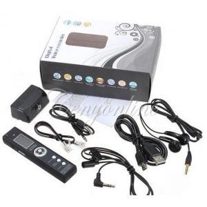 China PRO enregistreur audio de téléphone de voix de 8GB 650Hr USB Digital on sale
