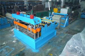 China 20GP Container Steel Sheet Slitting Machine , Metal Sheet Cutting Machine 2 Rubber Stations on sale