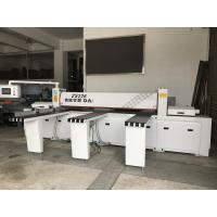 Multi Functional Cnc Panel Saw Machine Humanized Interface With Key Type Dust Cover