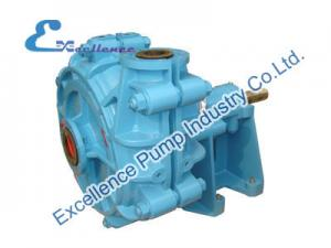 China Wear-resistant Centrifugal Slurry Pump with Frame Plate Liner for Mining on sale