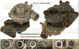 China Hyundai turbochargers GT1749  700273-0002 on sale