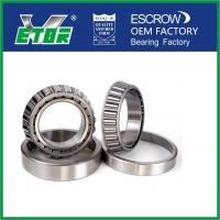 Steel Cage Taper Roller Bearing For Rolling Mill , Car Wheel Bearing Low Friction