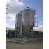hot galvanized silo