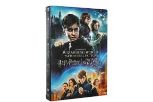 China Wizarding World 9-Film Collections DVD Movie Fantasy Movie DVD US Version Wholeslae on sale