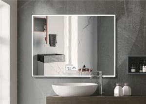 China Warm Light LED Bluetooth Bathroom Mirror With Explosion Proof Surface on sale