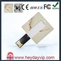 China OEM  Name Card USB Memory Stick 2GB on sale