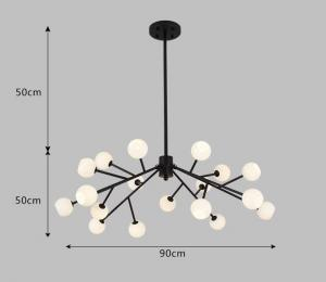 China High Quality Metal And Glass Lighting Chandelier Pendant with G4 Lights on sale