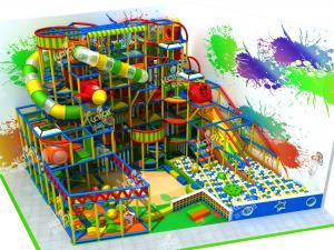 China Trampoline Park And Indoor Playground Equipment For Family Entertainment Center on sale