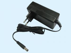 China 24V1A Lead Acid Battery Charger , EU Plug In Two Color Indication REACH / Rohs on sale