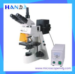 China HANDA fluorescent microscope price fluoresce biological microscope  epi-fluorescence microscope on sale