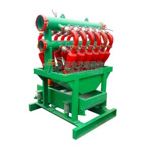 China Drilling Mud Desilter Hydrocyclone Equipement Trenchless Micro - Tunneling Use on sale