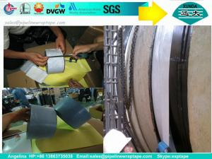 China Filed Joint Pipe Wrap Insulation Tape Pipe Seal Tape Coating on sale