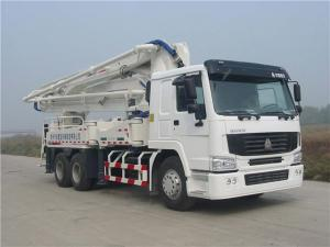 China 39 M3 - 125m³ Output Concrete Pump Truck With 4 Sections Arms HDT5291THB-39/4 on sale