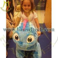 Hansel popular animal ride machine on wheel animal rides for little kids