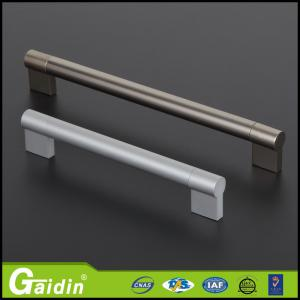China modern aluminum furniture hardware cabinet accessory recessed door pull handles wholesale on sale